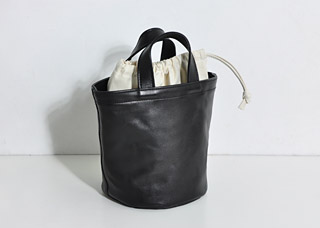 DELIVERY TOTE ALL LEATHER